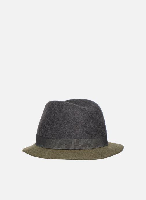 Hut Monoprix Femme Chapeau feutre bicolore grün schuhe getragen