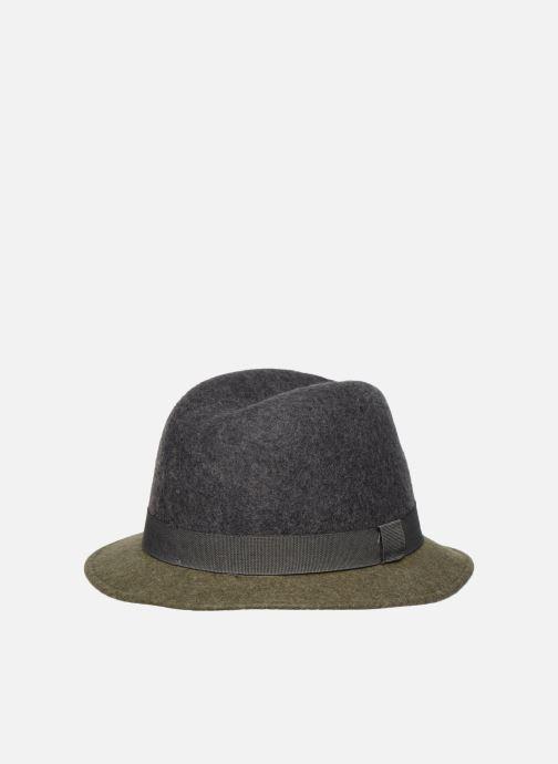 Hatt Monoprix Femme Chapeau feutre bicolore Grön detaljerad bild på paret