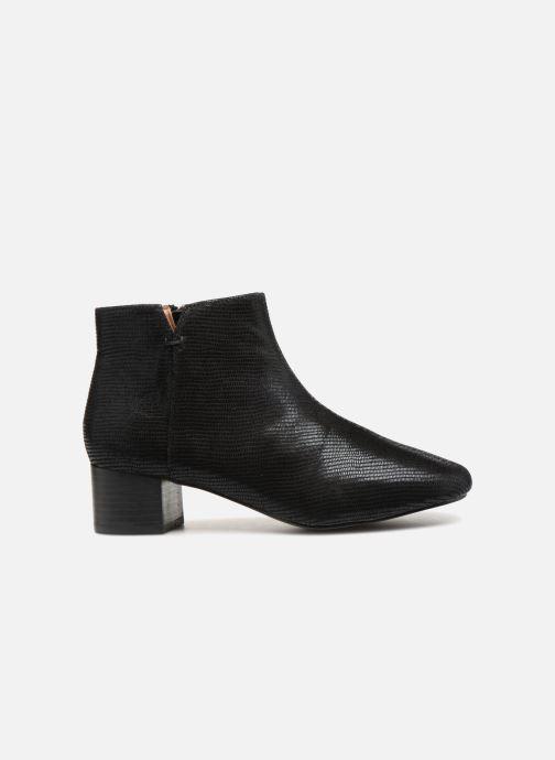 Boots en enkellaarsjes Monoprix Femme Bottines Zwart achterkant