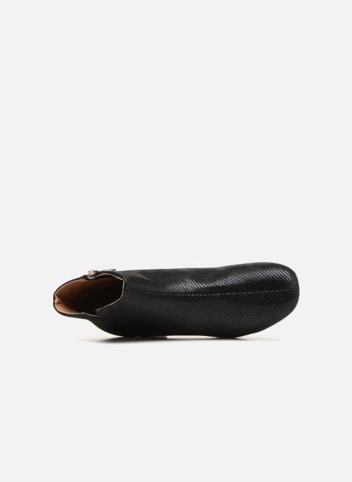 Boots en enkellaarsjes Monoprix Femme Bottines Zwart links