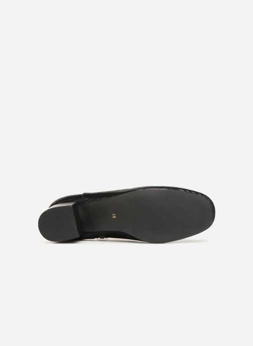 Boots en enkellaarsjes Monoprix Femme Bottines Zwart boven
