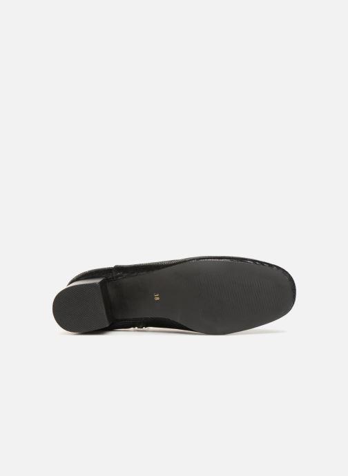 Bottines et boots Monoprix Femme Bottines Noir vue haut