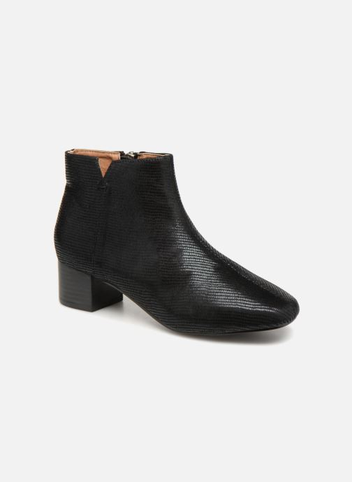 Boots en enkellaarsjes Monoprix Femme Bottines Zwart detail
