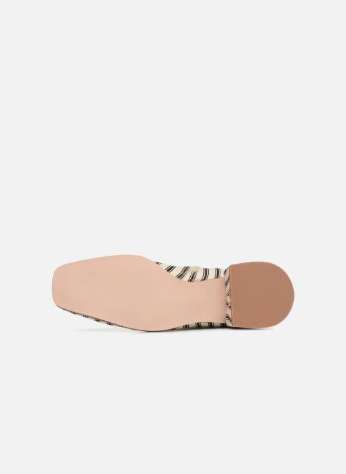 Stiefeletten & Boots Monoprix Femme BOOTS BOUT CARRE weiß ansicht von oben