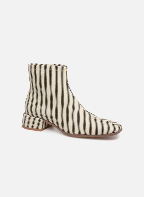Stiefeletten & Boots Monoprix Femme BOOTS BOUT CARRE weiß detaillierte ansicht/modell