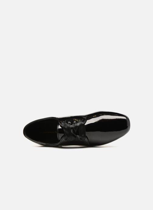 Chaussures à lacets Monoprix Femme DERBY PU VERNIS Noir vue gauche