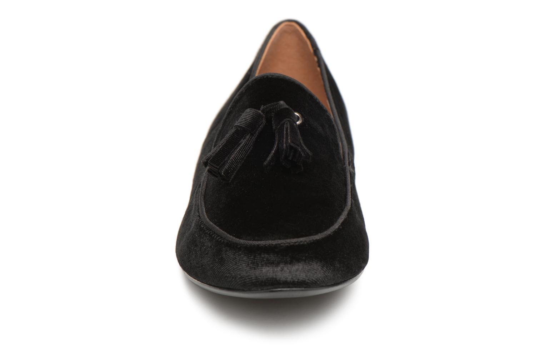 Mocassins Monoprix Femme MOCASSIN VELOURS Noir vue portées chaussures