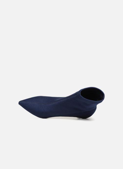 Stivaletti e tronchetti Monoprix Femme BOOTS COTE CHAUSSETTE Azzurro immagine sinistra