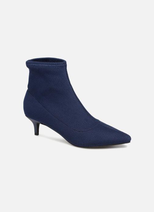 Bottines et boots Monoprix Femme BOOTS COTE CHAUSSETTE Bleu vue détail/paire