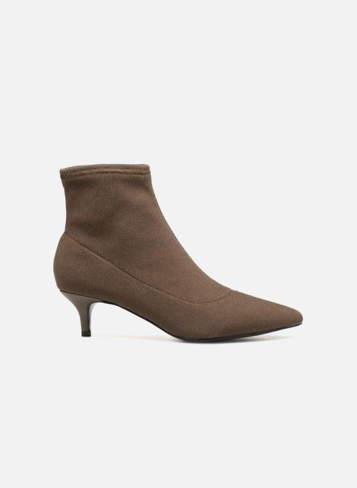 Ankle boots Monoprix Femme BOOTS COTE CHAUSSETTE Green back view