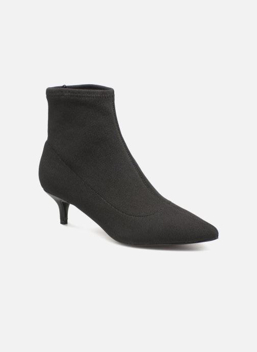 Stivaletti e tronchetti Monoprix Femme BOOTS COTE CHAUSSETTE Nero vedi dettaglio/paio