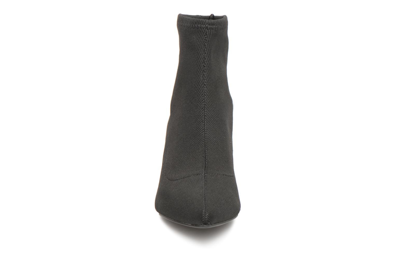 Stivaletti e tronchetti Monoprix Femme BOOTS COTE CHAUSSETTE Nero modello indossato