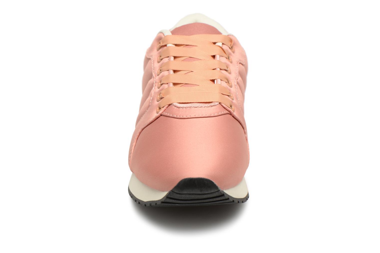 Sneakers Monoprix Femme BASKET UNIES MARMELADE Rosa modello indossato