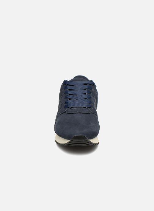 Baskets Monoprix Femme BASKET UNIES Bleu vue portées chaussures