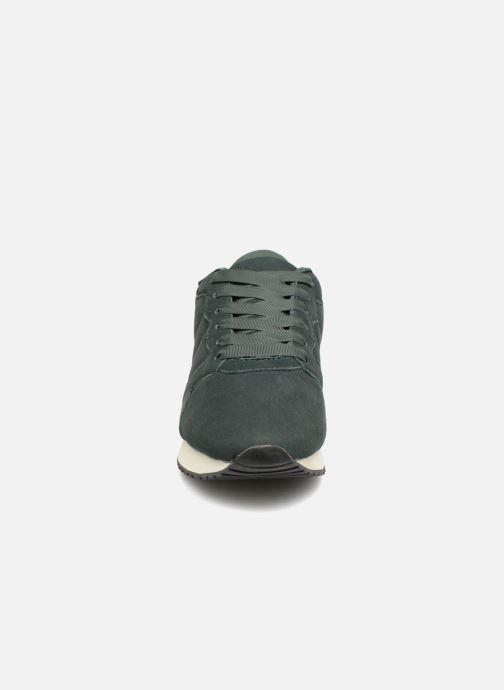 Baskets Monoprix Femme BASKET UNIES Vert vue portées chaussures