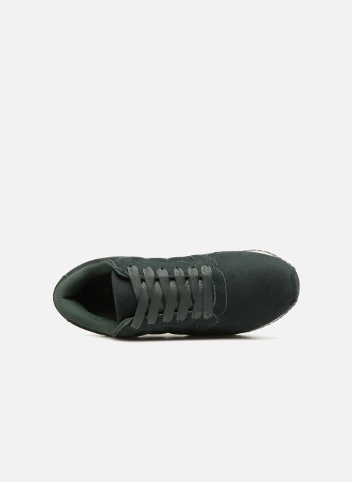 Trainers Monoprix Femme BASKET UNIES Green view from the left