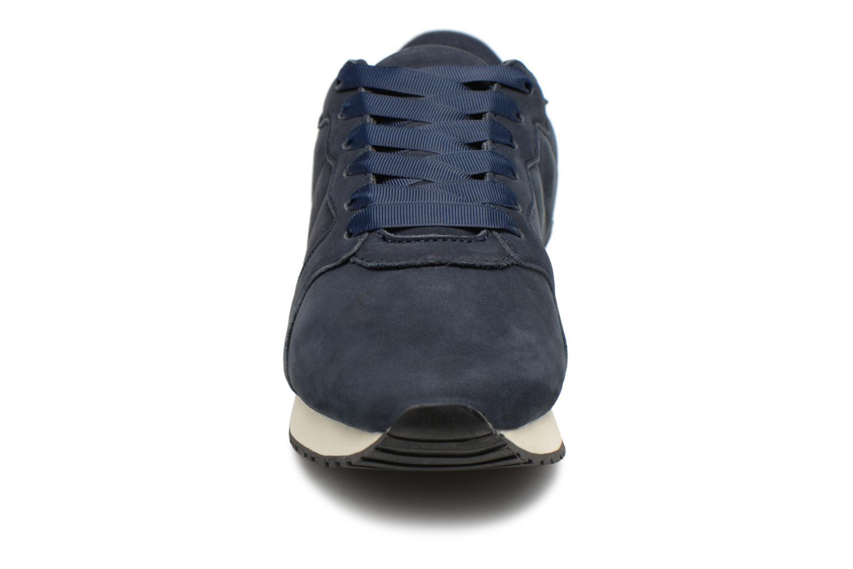 Sneakers Monoprix Femme BASKET UNIES Azzurro modello indossato