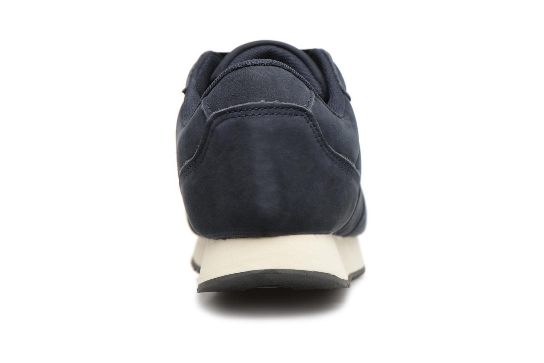 Baskets Monoprix Femme BASKET UNIES Bleu vue droite