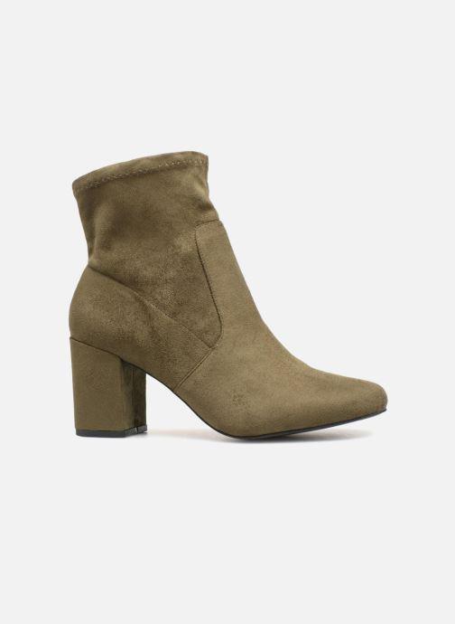 Bottines et boots Monoprix Femme Bottines chaussette Vert vue derrière