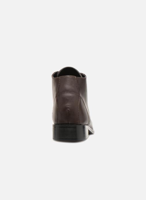 Bottines et boots Monoprix Femme BOTTINE GRAINE Marron vue droite