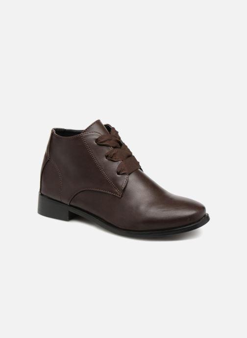Bottines et boots Monoprix Femme BOTTINE GRAINE Marron vue détail/paire