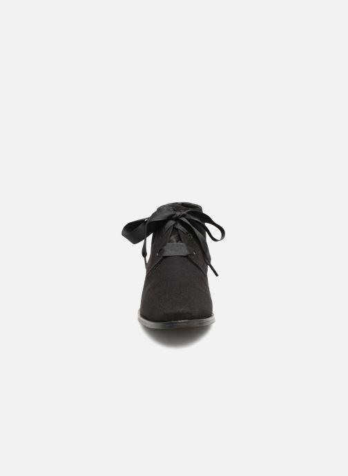 Bottines et boots Monoprix Femme BOTTINE GRAINE Noir vue portées chaussures