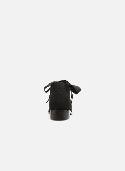 Ankle boots Monoprix Femme BOTTINE GRAINE Black view from the right