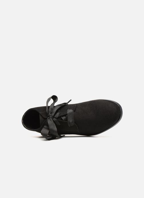 Bottines et boots Monoprix Femme BOTTINE GRAINE Noir vue gauche