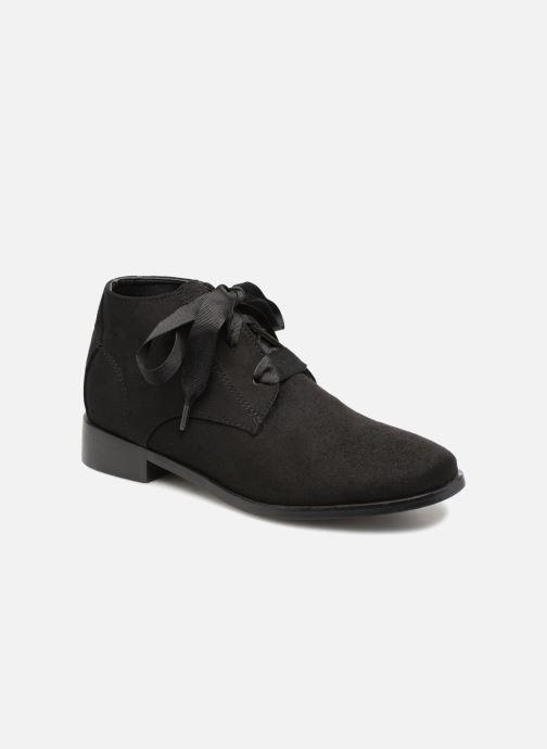 Bottines et boots Monoprix Femme BOTTINE GRAINE Noir vue détail/paire
