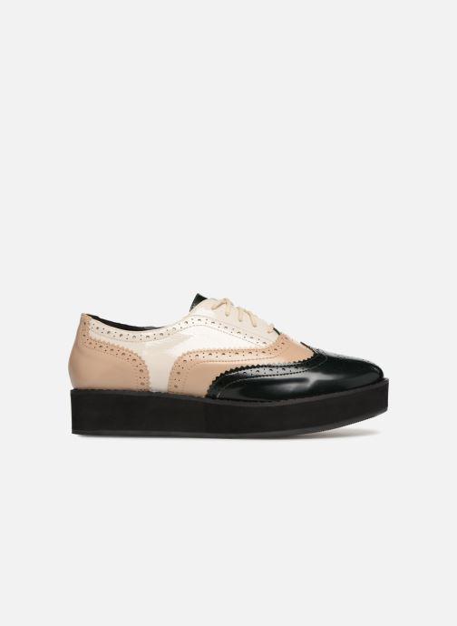 Zapatos con cordones Monoprix Femme DERBY PU TRICOLOR Multicolor vistra trasera