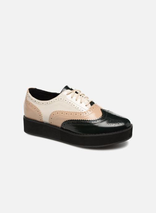 Chaussures à lacets Monoprix Femme DERBY PU TRICOLOR Multicolore vue détail/paire