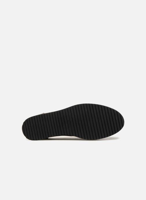 Chaussures à lacets Monoprix Femme DERBY CUIR CREPE Noir vue haut