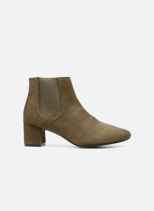 Bottines et boots Monoprix Femme BOTTINES TALON SUEDE Vert vue derrière