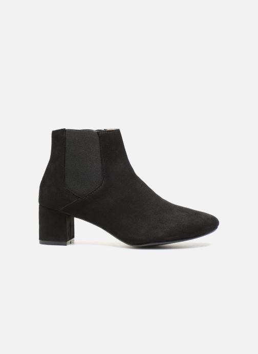 Bottines et boots Monoprix Femme BOTTINES TALON SUEDE Noir vue derrière
