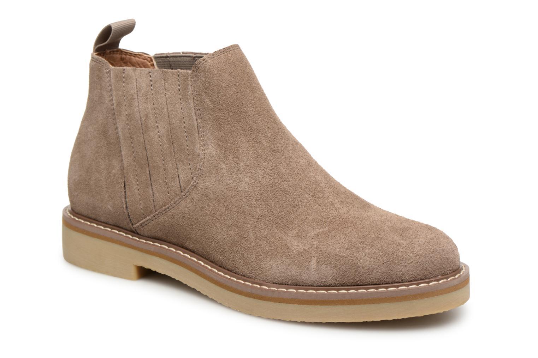 Croute Bottines Beige Boots Cuir Chez Et Dzwwp8yq Chelsea Monoprix Femme rtsQCdh