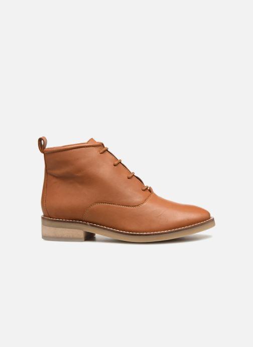Bottines et boots Monoprix Femme GODILLOT CUIR Marron vue derrière