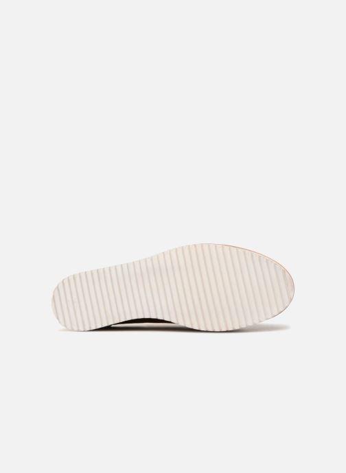 Chaussures à lacets Monoprix Femme DERBY CUIR Marron vue haut