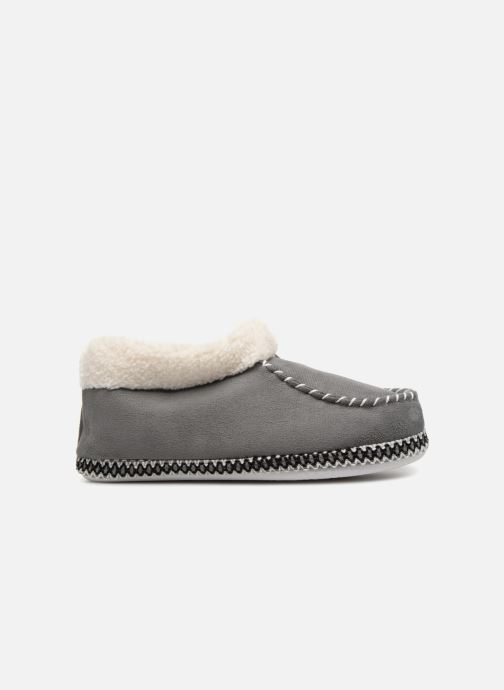 Pantofole Monoprix Femme MOCASSIN FOURRE Grigio immagine posteriore