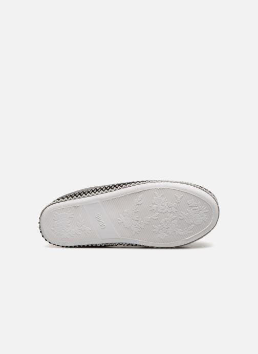 Pantofole Monoprix Femme MOCASSIN FOURRE Grigio immagine dall'alto