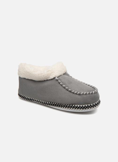Pantofole Monoprix Femme MOCASSIN FOURRE Grigio vedi dettaglio/paio