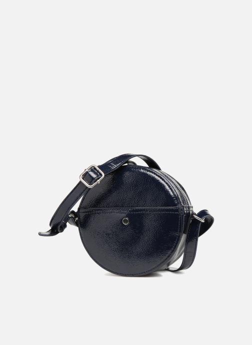 Bolsos de mano Monoprix Femme CROSSBODY ROND PU VERNI Azul vista del modelo