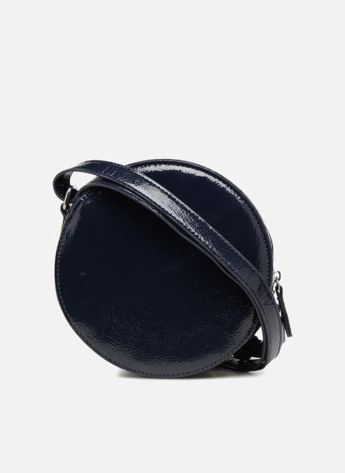Bolsos de mano Monoprix Femme CROSSBODY ROND PU VERNI Azul vista de frente