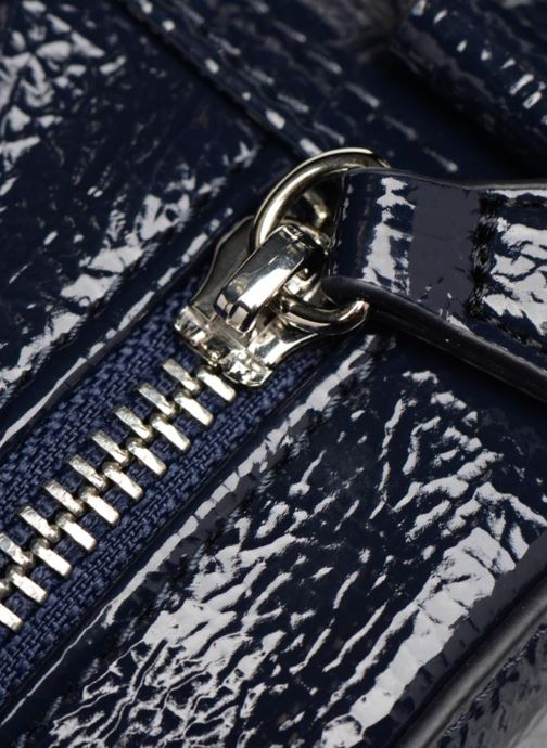 Bolsos de mano Monoprix Femme CROSSBODY ROND PU VERNI Azul vista lateral izquierda