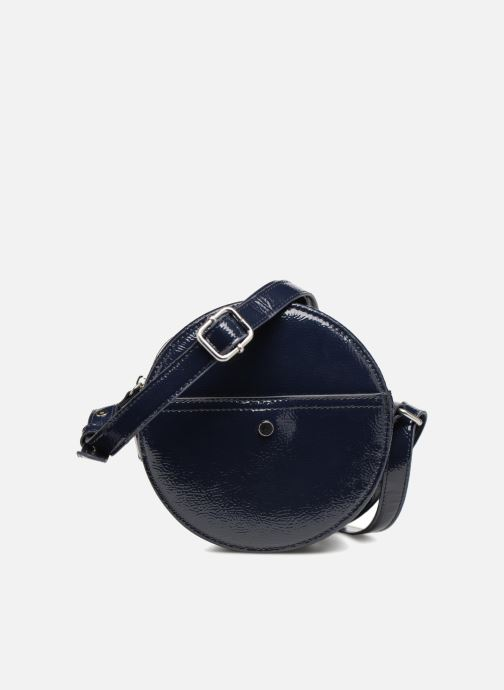 Bolsos de mano Monoprix Femme CROSSBODY ROND PU VERNI Azul vista de detalle / par