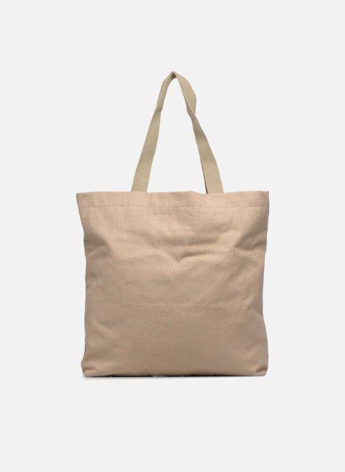 Handtaschen Monoprix Femme CABAS POIS beige ansicht von vorne