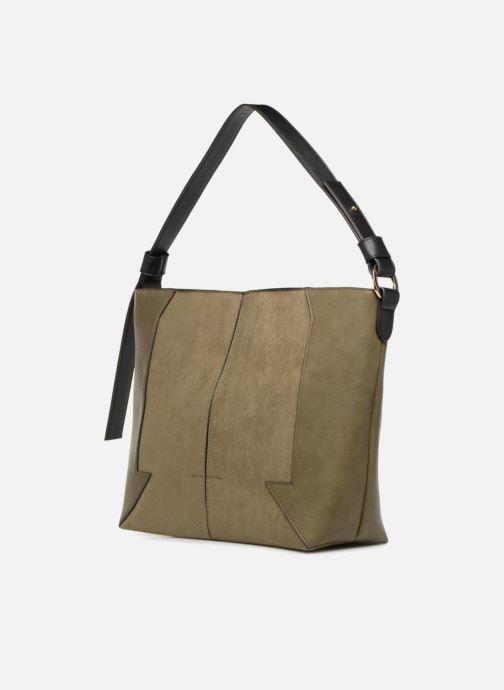 Handtassen Monoprix Femme BESACE BIMATIERE Groen model