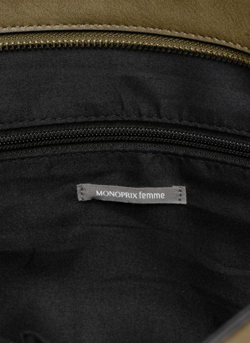 Handtassen Monoprix Femme BESACE BIMATIERE Groen achterkant