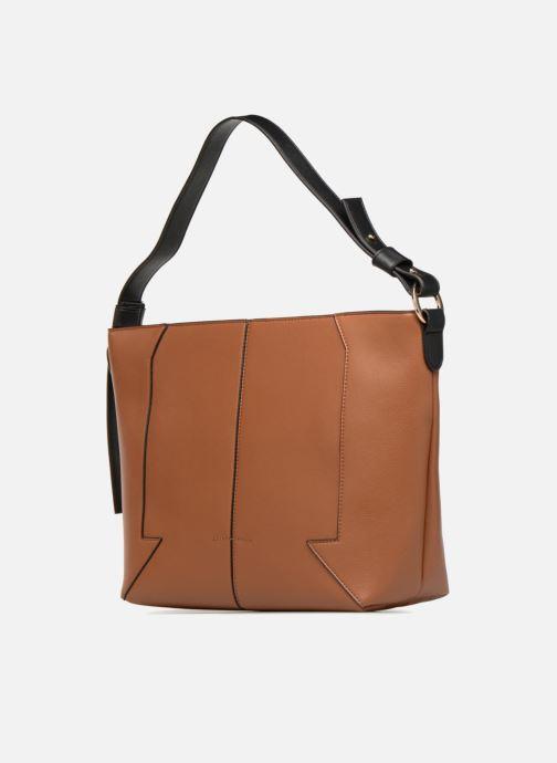 Handtaschen Monoprix Femme BESACE BIMATIERE braun schuhe getragen