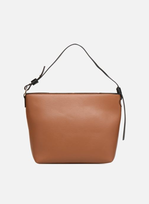 Handtaschen Monoprix Femme BESACE BIMATIERE braun ansicht von vorne