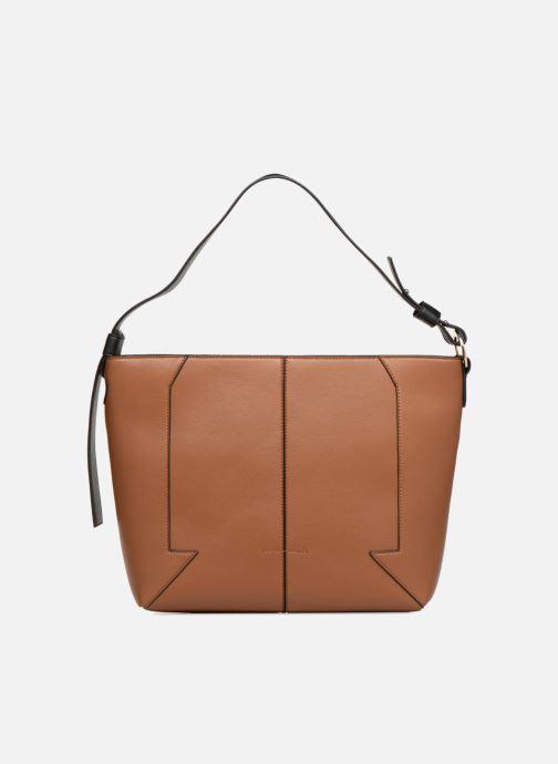 Handtaschen Monoprix Femme BESACE BIMATIERE braun detaillierte ansicht/modell